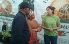MEC Oupa Khoabane at the Bloem Show Exhibition