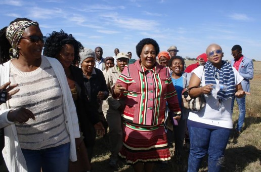 Premier Sisi Ntombela launched the Martindale Women in Farming Cooperative