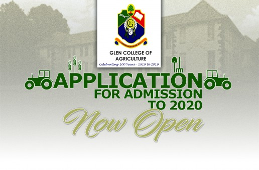 APPLICATION FOR ADMISSION TO 2020 ACADEMIC YEAR